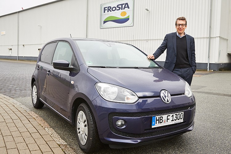 Seitenbild : FRoSTA Firmenwagen Vorstand