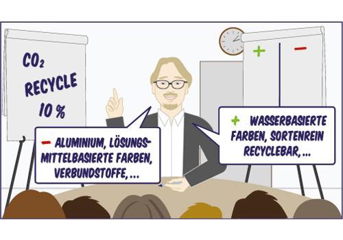 Illustration : Umweltfreundlichere Verpackungen (2)